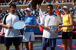ダニエラ・ハンチュコワ 優勝♪:'05全米オープンテニス(ミックスダブルス):The US Open 2005 - Grand Slam Tennis - Official Site by IBM - News