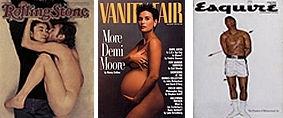 livedoor ニュース - 最優秀雑誌表紙にレノンの裸写真=D・ムーアの妊婦ヌードが2位:Magazine Publishers of America
