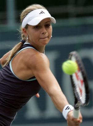 キリレンコ18歳:BEST4: … '05AIGジャパンオープンテニス:Maria Kirilenko of Russia hits to return against Jill Craybas of the U.S. ... - Tennis - Yahoo! Sports